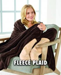 Fleece plaid