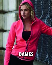Fleece vest dames
