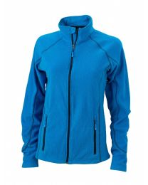 James & Nicholson Structure Fleece Jacket Dames