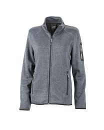 James & Nicholson Knitted Fleece Jacket Dames
