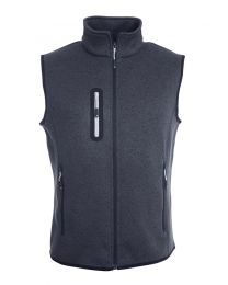James & Nicholson Knitted Bodywarmer Heren