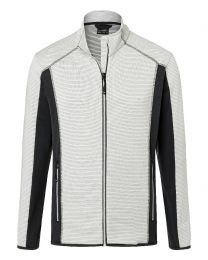 James & Nicholson Structure Fleece Jacket Men