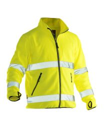 Jobman Hi-Vis Fleece Jacket Heren