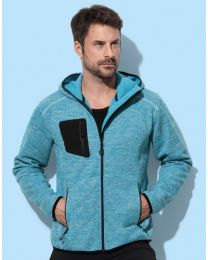 Stedman Recycled Fleece Jacket Hero Heren