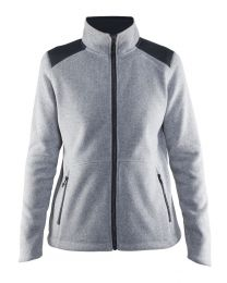 Craft Noble Zip Jacket Heavy Knit Fleece Dames
