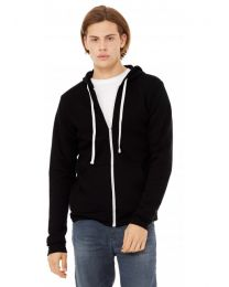 Triblend Sponge Fleece Full-Zip Hoodie Unisex