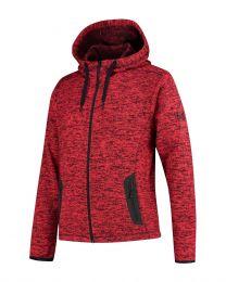 Heren, fleece hoodie, Cardigan Riptide.