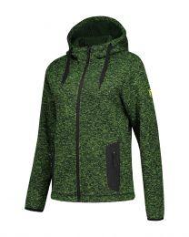 Fleece hoodie,  Cardigan Riptide, dames.